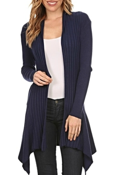 fashion 123 Perfect Navy Cardigan - Alternate List Image