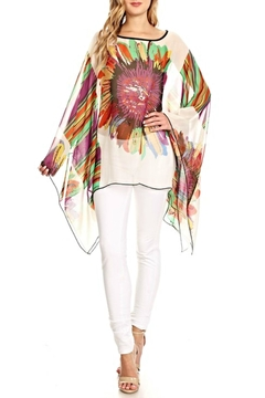 fashion 123 Superflower Power Poncho - Product List Image