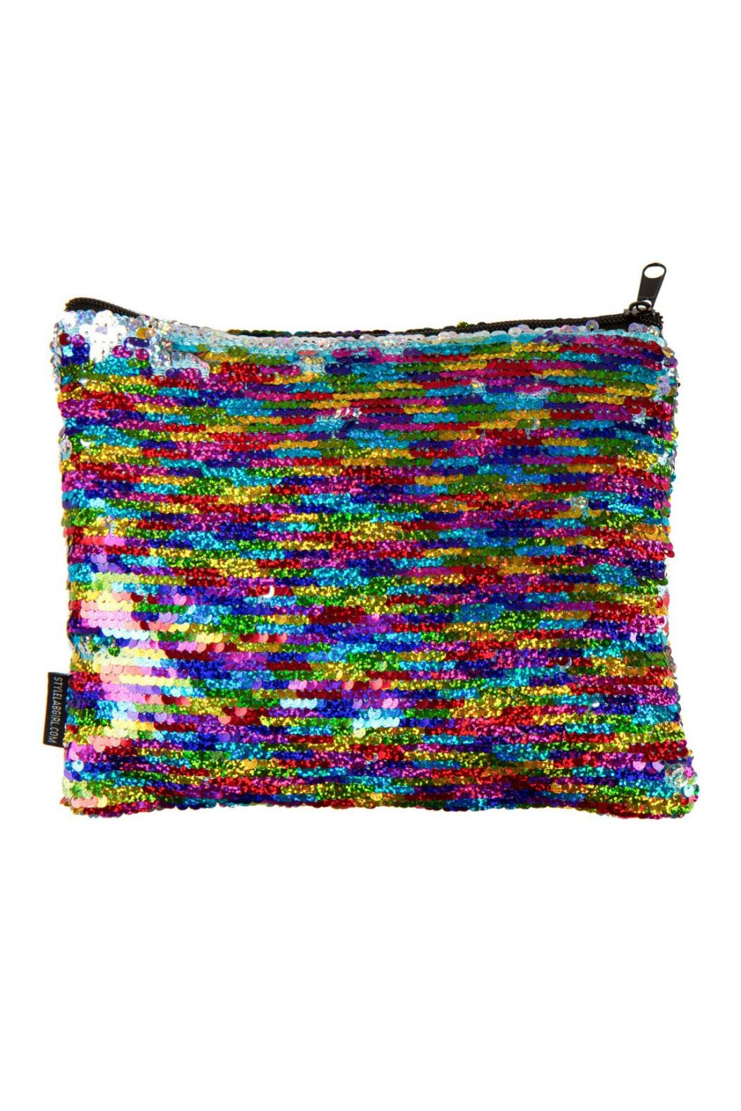 Fashion Angels Rainbow Sequin Pouch - Main Image