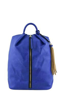 Fashion Bella Backpack With Tassel - Product List Image