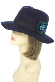 Fashion Bella Beaded Floral Hat - Other