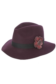 Fashion Bella Beaded Floral Hat - Product Mini Image