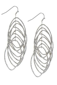 Shoptiques Product: Cascading Marquise Earrings