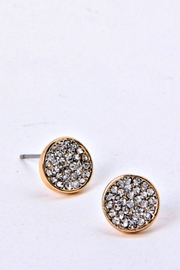 Fashion Bella Circular Stud Earrings - Product Mini Image