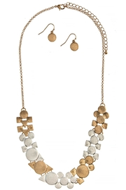 Fashion Bella Cluster Bib-Necklace Set - Product Mini Image