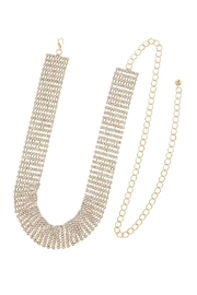 Fashion Bella Crystal Lined Chain-Belt - Product Mini Image