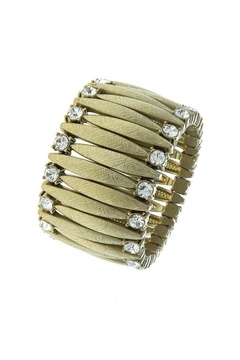 Shoptiques Product: Crystal Lined Marquise-Bracelet