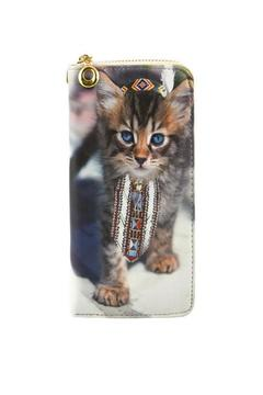 Shoptiques Product: Designer Cat Wallet