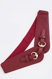 Fashion Bella Double-Buckle Stretch Belt - Product Mini Image