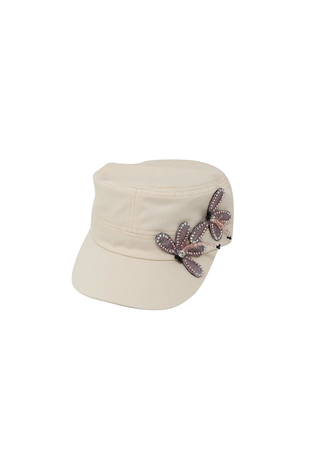 Fashion Bella Dragonfly Accent Cap - Front Cropped Image