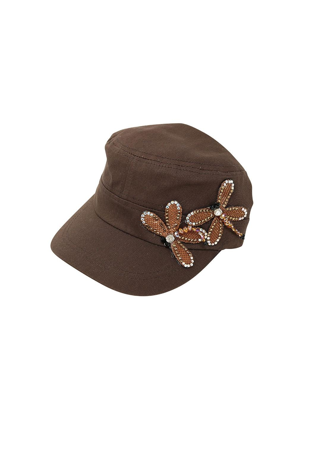 Fashion Bella Dragonfly Accent Cap - Main Image