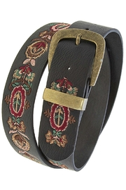 Fashion Bella Embroidered Floral Belt - Product Mini Image