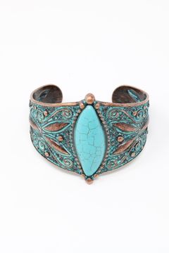 Shoptiques Product: Filigree Etched Bracelet