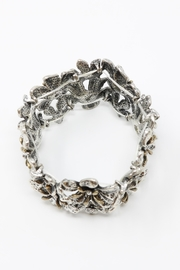 Fashion Bella Floral Etched Bracelet - Front full body