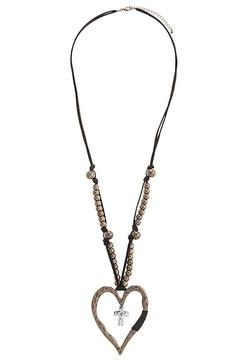 Shoptiques Product: Heart Necklace