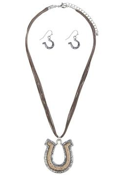 Shoptiques Product: Horseshoe Necklace Set