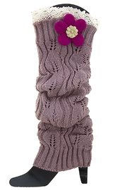 Fashion Bella Knit Leg Warmers - Product Mini Image