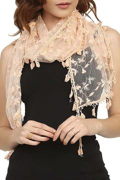 Fashion Bella Lace Floral Scarf - Product List Image