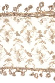 Fashion Bella Lace Floral Scarf - Side cropped