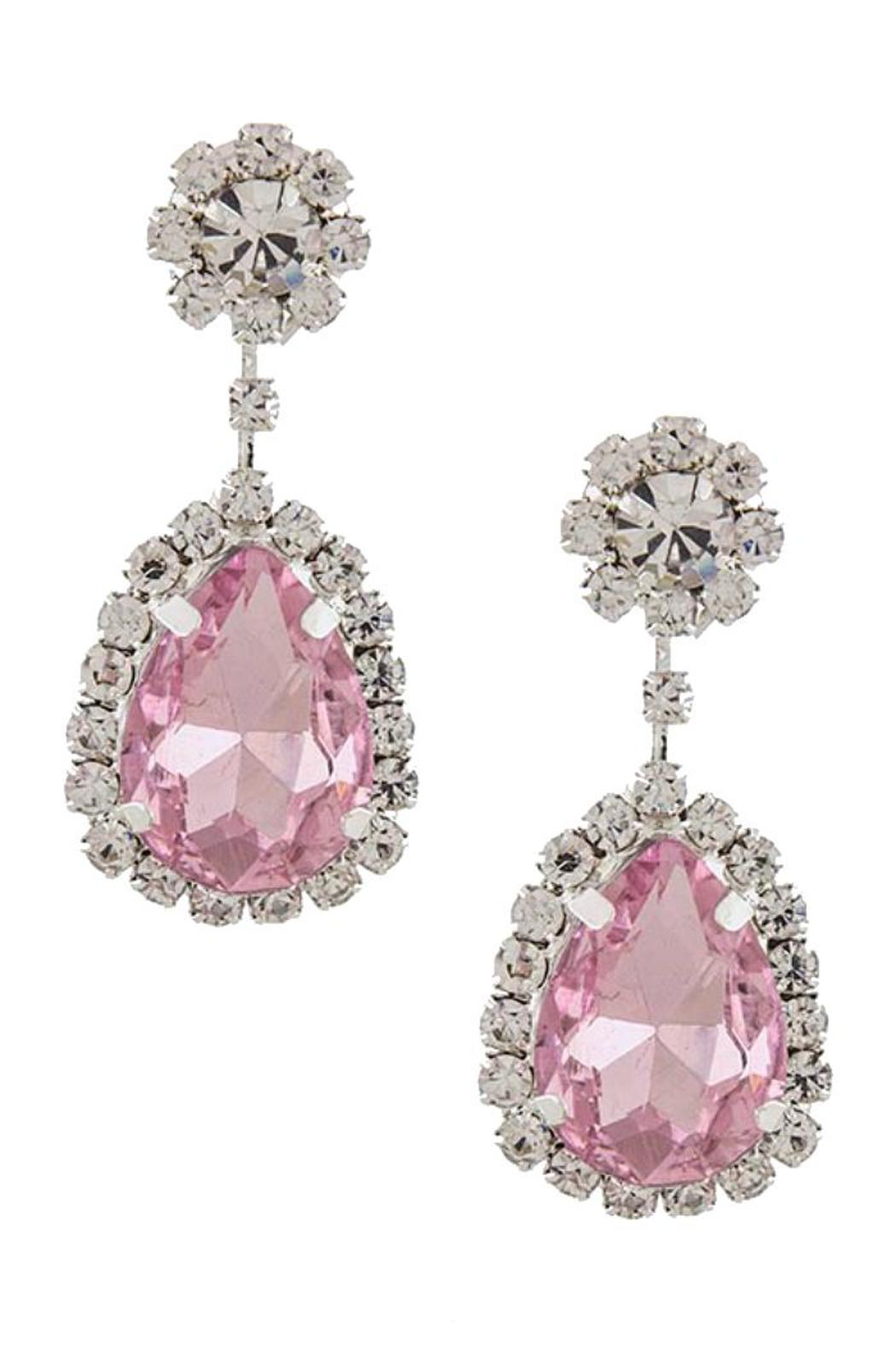 Fashion Bella Crystal Drop Earrings - Main Image