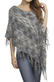 Fashion Bella Stripe Design Poncho - Product Mini Image