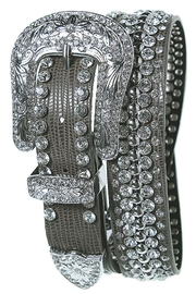 Fashion Bella Studded Leather Belt - Product Mini Image