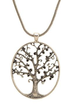Shoptiques Product: Tree Cutout Necklace-Set