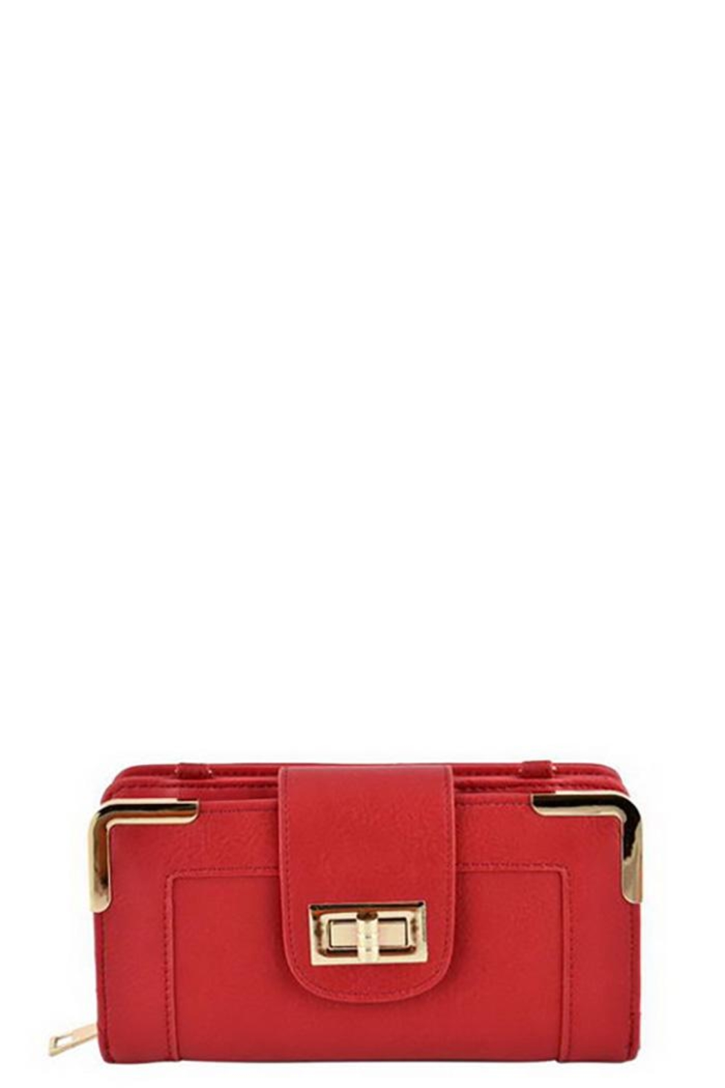 Fashion Bella Two Compartment Wallet - Front Cropped Image