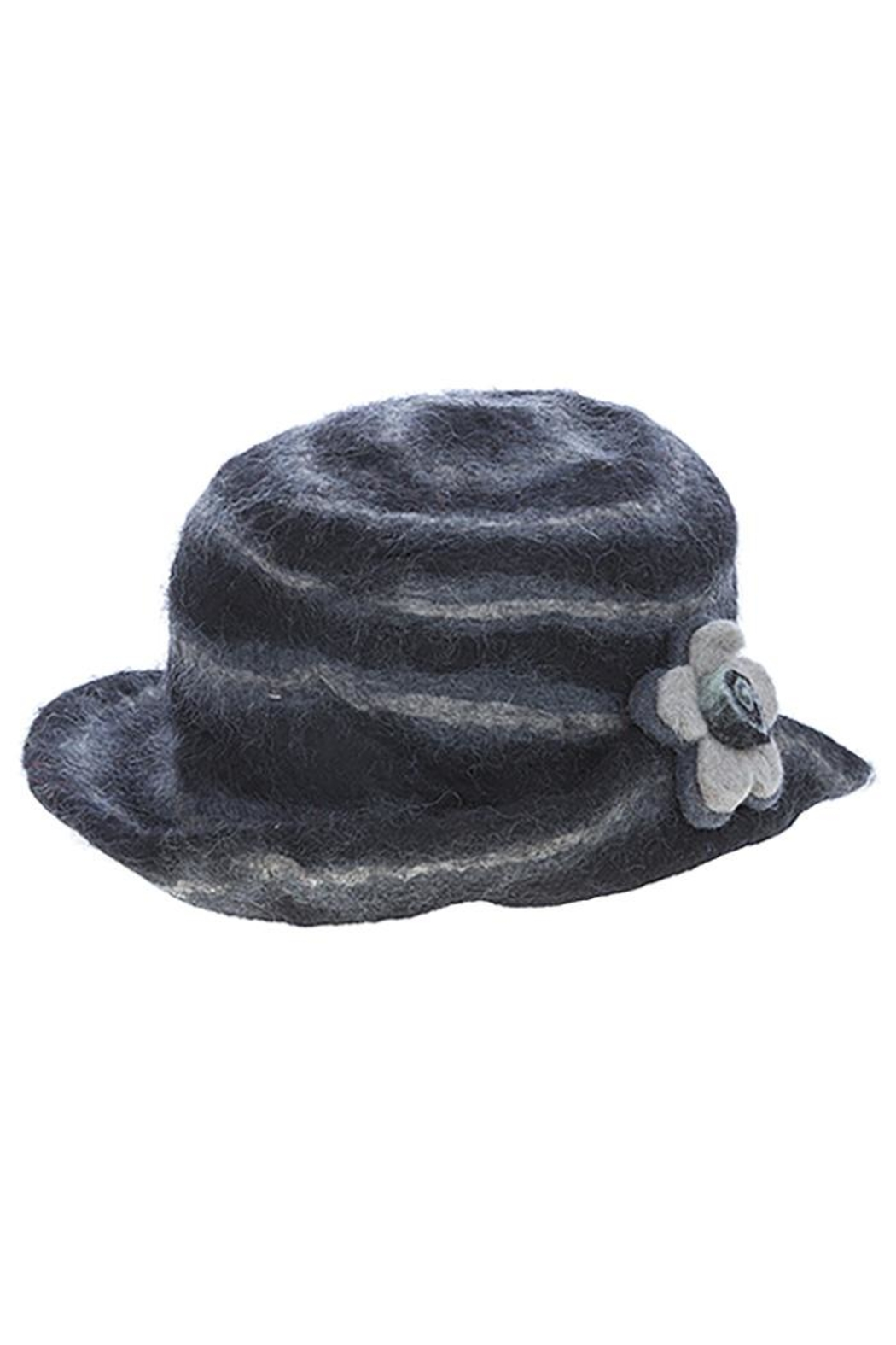 Fashion Bella Wool Bucket Hat - Front Cropped Image