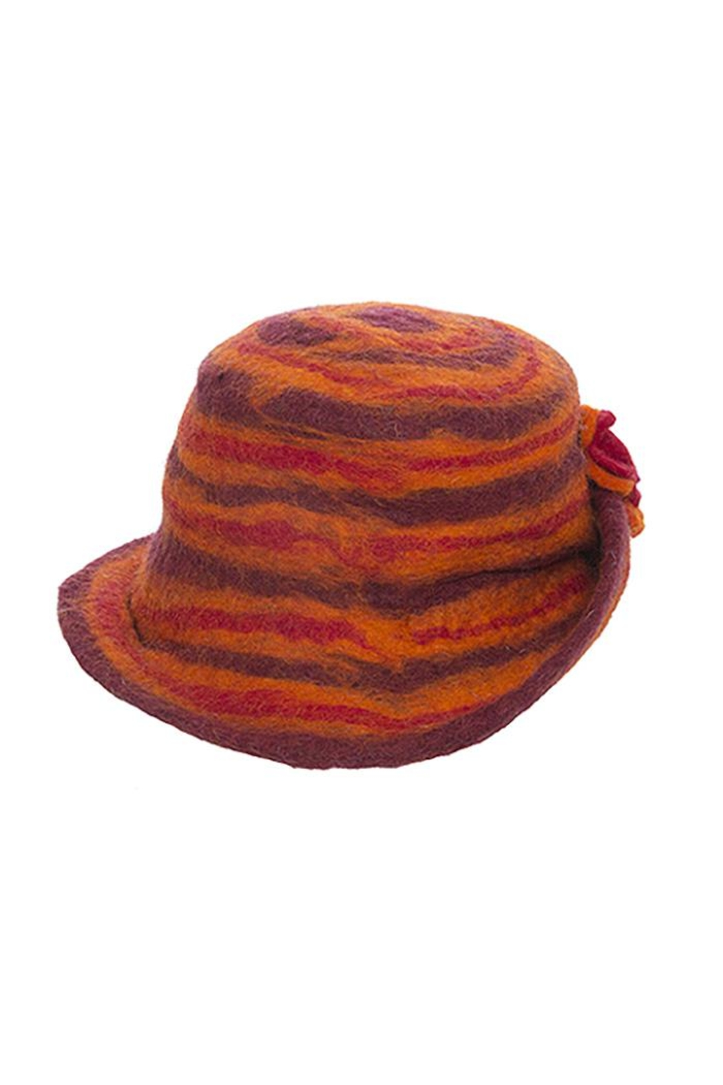 Fashion Bella Wool Bucket Hat - Front Full Image