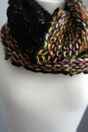 Fashion Hub Chunkknit Tube Scarf - Front cropped