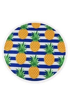 Fashion Jewelry Round Beach Towel - Product List Image