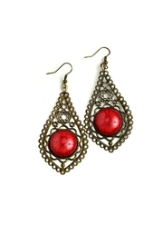Fashion Jewelry Vintage Style Earrings - Product Mini Image