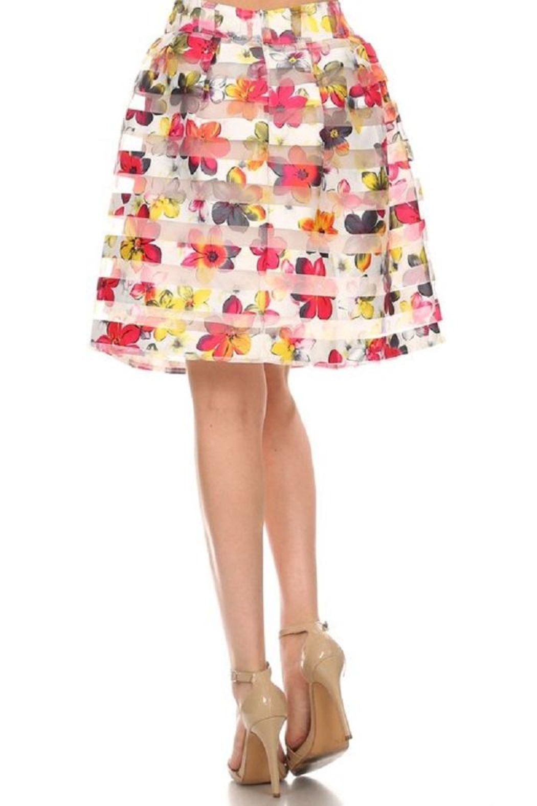 Fashion Line A-Line Floral - Front Full Image