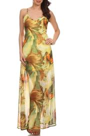 Fashion Line Tropical Print Maxi - Front cropped