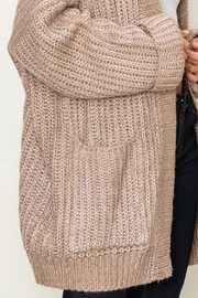 fashion on earth Chunky Pocket Cardi - Side cropped