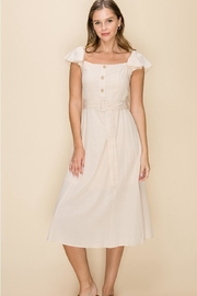 fashion on earth Cotton Midi Dress - Product Mini Image