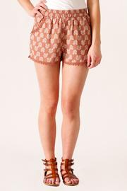 fashion on earth Crochet Trim Shorts - Product Mini Image