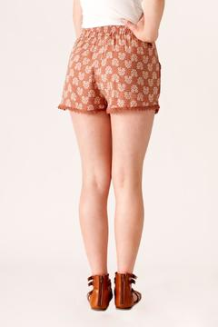 fashion on earth Crochet Trim Shorts - Alternate List Image