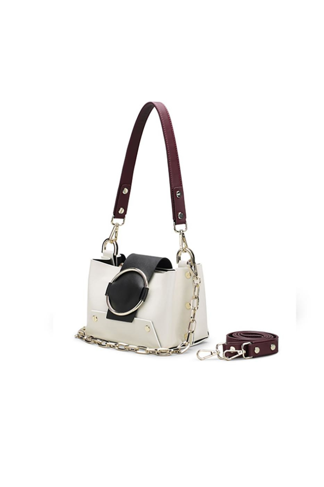 Fashion Pickle Anaita White Bag - Side Cropped Image