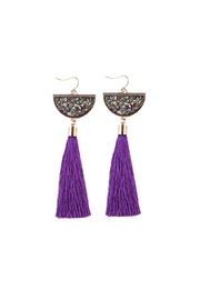 Fashion Pickle Ava Statement Earrings - Front cropped