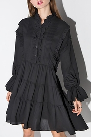 Fashion Pickle Black Longsleeves Dress - Front cropped