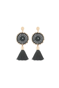 Fashion Pickle Dreamcatcher Statement Earrings - Product List Image