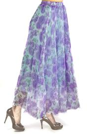 Fashion Pickle Floral Maxi Skirt - Product Mini Image