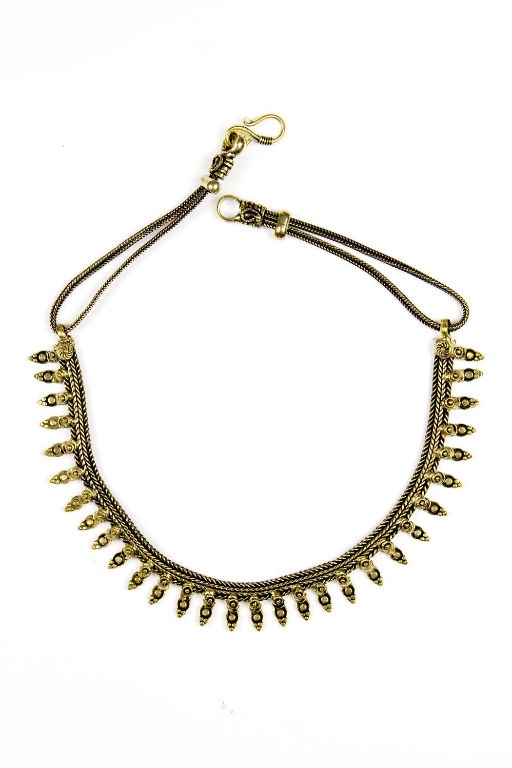 Fashion Pickle Statement Necklace - Main Image