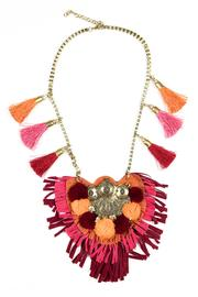 Fashion Pickle Imani Statement Necklace - Product Mini Image