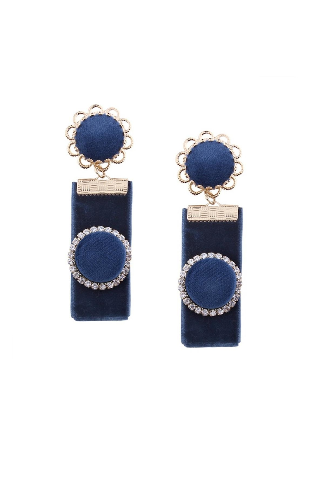 Fashion Pickle Kalisa Statement Earrings - Main Image