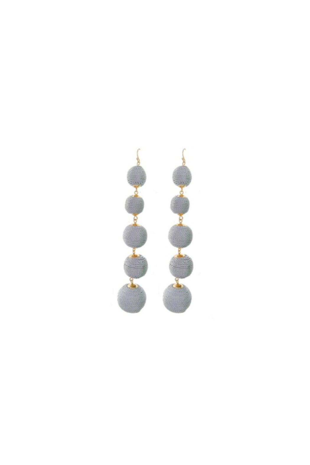 Fashion Pickle Mitka Statement Earrings - Main Image