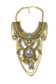 Fashion Pickle Odess Statement Necklace - Front cropped