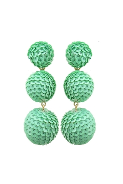 Shoptiques Product: Pastel Statement Earrings